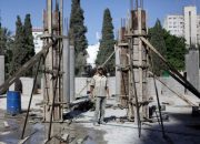 Gazze'de inşaat sektörü durdu