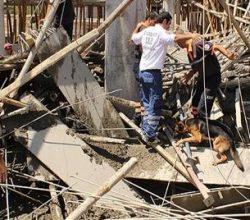 Öğrenci Merkezi İnşaatı Çöktü: 4 Yaralı