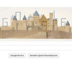 Google'den ünlü mimar Eugene Emmanuel Viollet-le-duc doodle'ı