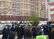 Emaar AVM inşaatında çalışan işçiler evlerine gönderildi!