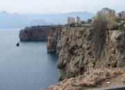 Antalya'nın Falezlerinde Korkutan Tablo