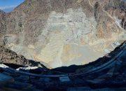 Yusufeli barajında şuana kadar 350 bin metreküplük beton döküldü