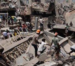 Hindistan'da inşaat halindeki bina çöktü