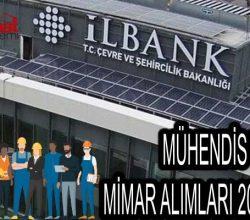 İller Bankası Mimar ve Mühendisler Alacak – 2021