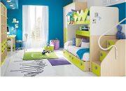 Çocuk odalarında renk