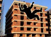 En çok ölümlü iş kazası inşaat sektöründe