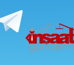 İnşaat Gündemi Telegram Grupları Açılmıştır