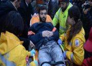 Emek Sineması İnşaatında Bir İşçi Yaralandı