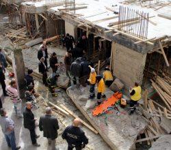 İstinat Duvarı Çöktü: 1 İşçi Ağır Yaralı