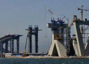 İzmit Körfez Geçişi Asma Köprüsü'nde Kuleler Tamamlandı
