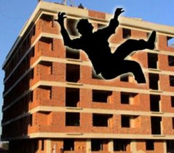 Aksaray'da üzerlerine inşaat malzemeleri düşen 3 işçi yaralandı