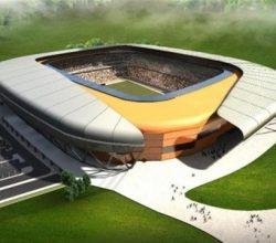 Malatya Stadyumu'nda İnşaat Durdu