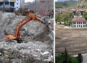 """""""Meydankondu"""": Davutoğlu için Üç Günde Miting Alanı Yapıldı"""