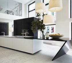 Libeskind imzalı WEB kitaplık ve Sharp Mutfak
