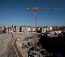 Nevşehir'de Dev Kompleksin İnşaatı Devam Ediyor