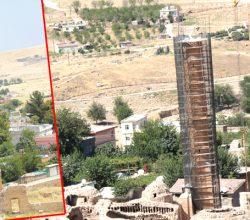 611 Yıllık Minarenin Taşlarında Son Durum !