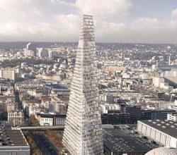 Paris Kent Konseyi Herzog & de Meuron'un 180 Metre Yüksekliğinde Üçgen Kulesini Reddetti