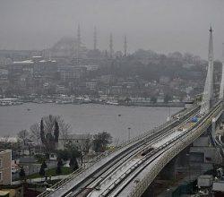 Şişhane-Haliç Metro Geçiş Köprüsü Açıldı