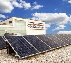Özyeğin Üniversitesi'nin Güneş Enerjisi Yingli Solar'dan