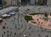"""Beton Yığını Taksim'e """"Yeşil Saksıdan Adacıklar""""!"""