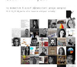 Tasarımcı ve Öğrenciler, İç Mimarlık Öğrenci Proje Sergisinde Buluşuyor!