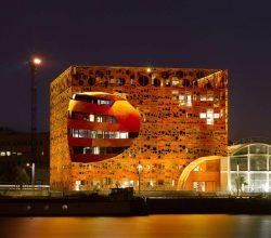 The Orange Cube – Lyon, Fransa
