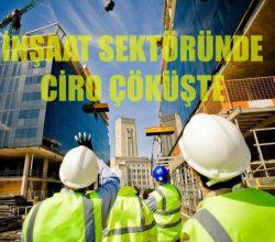 İnşaat Sektöründe Ciro Yüzde 16.1 Azaldı