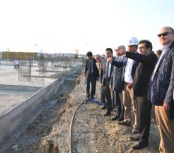 Vali Güzeloğlu Havaalanı İnşaatını İnceledi