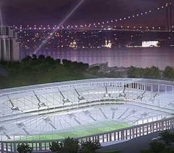Vodafone Arena'da çalışmalar sürüyor