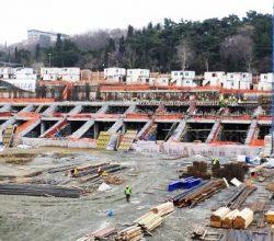 İnönü'de inşaat son hız! İşte son kare!