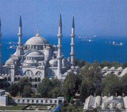 Yakında Sultanahmet Camii'ne merdivenle ineceğiz!