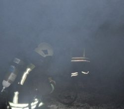 Yapı Malzemeleri İmalathanesinde Yangın