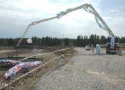 Yeni Stadyumun Temel Atma Töreni İçin Son Hazırlıklar Yapılıyor