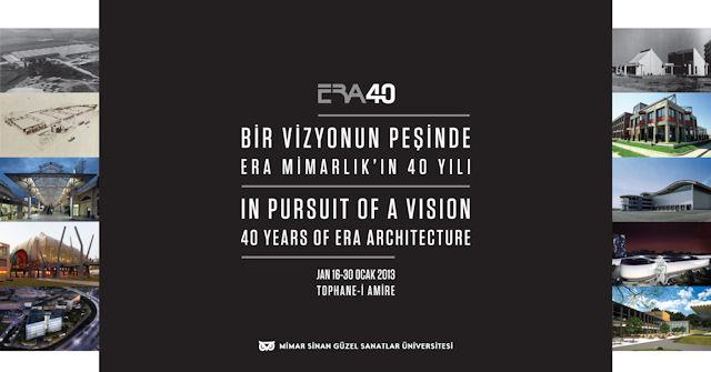 Bir Vizyonun Peşinde: ERA Mimarlık'ın 40 Yılı Sergisi