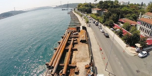 İstanbul Boğazı 8 Metre Daralıyor