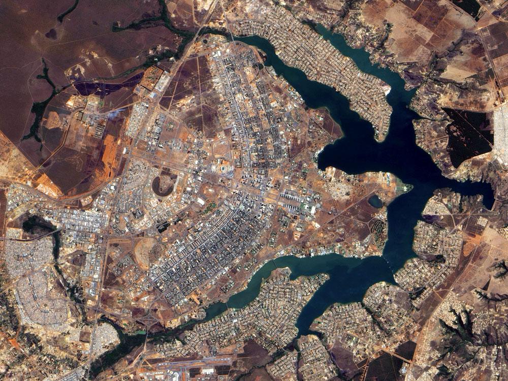 brasila_şehir-planı-uzaydan-görünüş