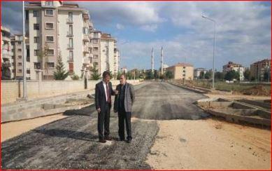 Bursa yenişehir'de alt yapı çalışmaları sürüyor!