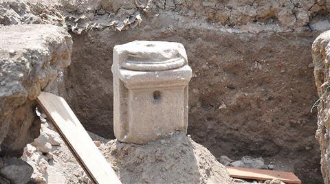 İnşaat Kazısında Bizans Kalıntıları Çıktı