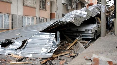 Yaşanan Çatı Uçması ve Çökmesi Olayları Şaşırtıcı Değil