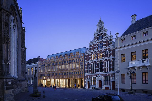 Hollanda'da Yarışmayla Yapılan Belediye Binası Açıldı