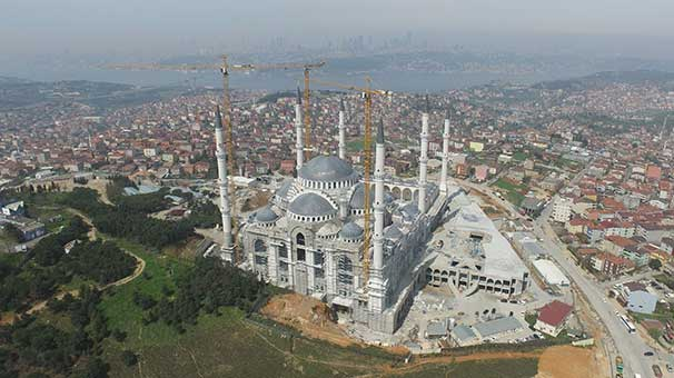 Çamlıca Camisi bu yıl içinde açılacak