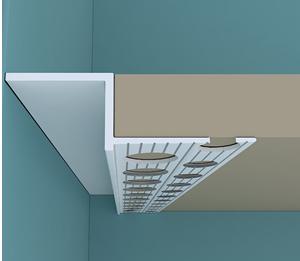 Tavan duvar birleşiminde fuga yapılması