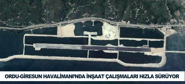 Havaalanı için denize 29 milyon ton taş döküldü