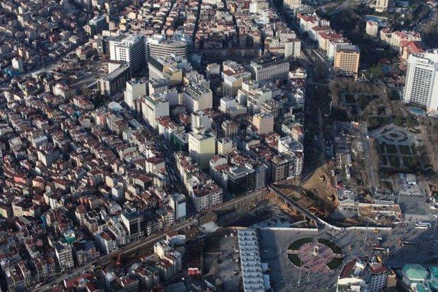 Havadan Taksim!