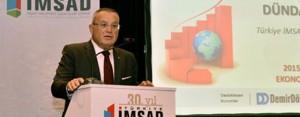 """Türkiye İMSAD, """"2015 Yılında Türkiye ve Dünya Ekonomisini Neler Bekliyor?' konusunu gündeme taşıdı"""