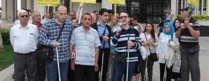 Görme Engelli Vatandaşlardan Metro Tepkisi