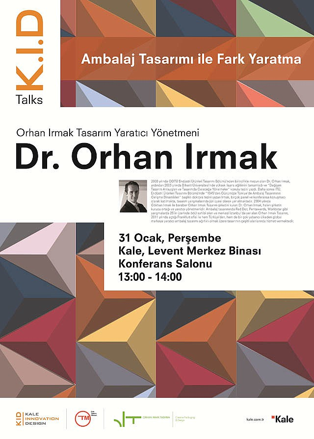K.I.D. Talks: Dr. Orhan Irmak