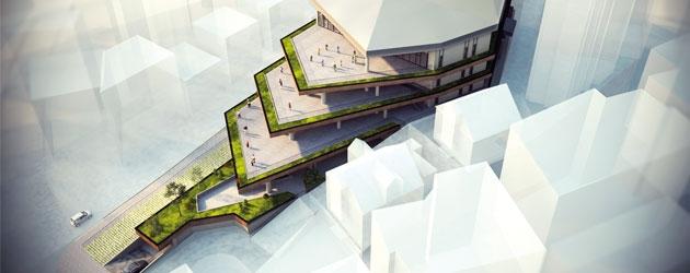 YALIN TASARIM Mimarlık imzası ile Gümüşhane Kapalı Pazaryeri projesi