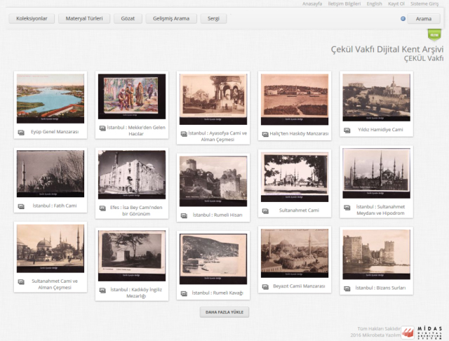 ÇEKÜL, Anadolu Kent Arşivini Dijital Ortama Taşıdı