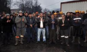 Madencilerin Yer Altındaki Eylemi Sürüyor
